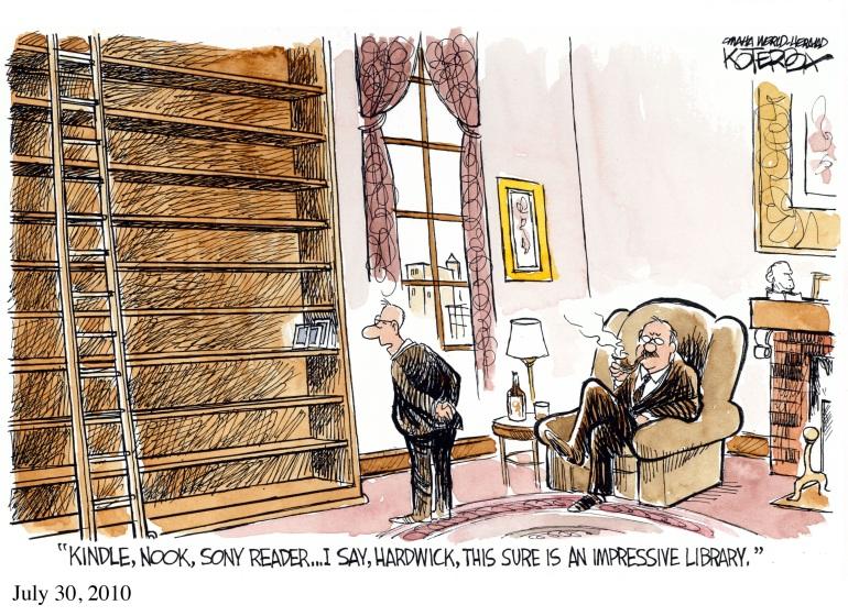 """Jeffrey Koterba, """"An Impressive Library"""""""